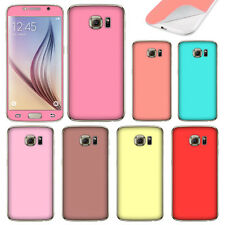 For Samsung Galaxy S6 G920 Color Decal Vinyl Sticker Skin Cover Protector