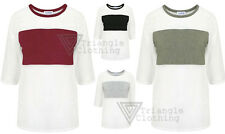 Womens Mesh Sports Luxe T shirt Celebrity Sheer Chest Panel Jersey Gym Casual
