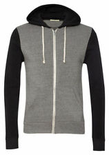 Alternative Adult New Long Sleeve Colorblock Eco Fleece Full Zip Hoodie. 32023