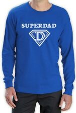 Super Dad Father's Day Gifts - Super Hero Dad Cool Long Sleeve T-Shirt Funny