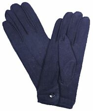 GLOVES NYLON W SNAP MENS BLACK REENACTMENT ACCESSORIES NEW FREE SHIPPING IN US