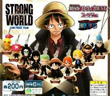 Bandai One Piece Strong World Film Movie Best Phone Strap Suit version Figure