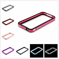 Apple iPhone 4S 4 Ultra-thin Bumper Cover Frame Skin with Chrome Button