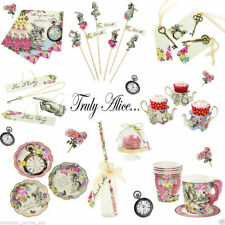 Truly Alice In Wonderland Mad Hatters Tea Party Supplies Vintage Wedding Hens