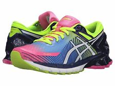 ASICS GEL KINSEI 6 PINK WHITE YELLOW WOMENS RUNNING SHOES **FREE POST WORLDWIDE