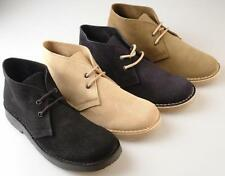 Mens New Suede Desert Boots / Shoes Uk  Sizes 6 - 12