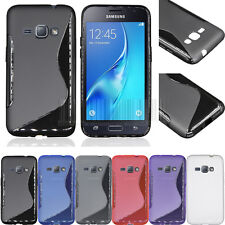 Ultra Slim Hard Gel TPU case Soft Rubber Thin Cover For Samsung Galaxy J1 2016