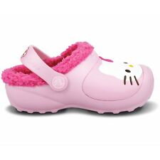 Crocs Hello Kitty Lined Clogs - Color Bubblegum / Fuchsia - New and authentic