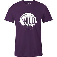 The Level Collective Sound Of Wild Mens T-shirt - Grape All Sizes