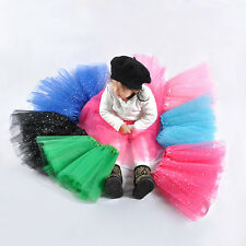 Stylish Dance Wear Girls Kids Tutu Skirt Party Ballet Dress Pettiskirt Costume