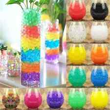 1000X Lot Plant Flower Crystal Soil Water Beads Mud Grow Pearl shaped Magic Ball
