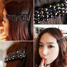 2016 Hot sale Girls Bling Headwear Crystal Rhinestone Hair Clip Barrette Hairpin