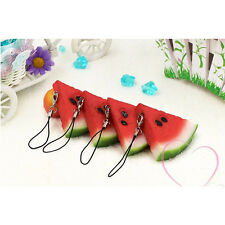 Mini Cute Simulation fruit Cell Phone Charm Bag Strap Keychain Pendant Decor