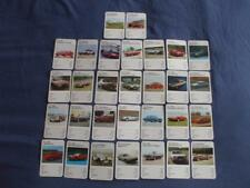REF1:DUBREQ TOP TRUMPS:SUPER CARS 2:SINGLE CARD SELECTION FROM DROP DOWN MENU