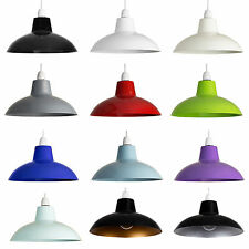 Cool Retro Vintage Metal Cafe Style Ceiling Pendant Light Lamp Shades Lampshade