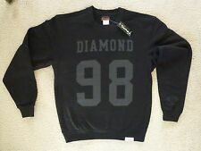 NWT Authentic Diamond Supply Co. Nine Eight Black Crewneck Sweater