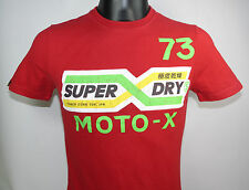 SuperDry Shirt MOTO X REWORKED CLASSIC TEE MS1FA514S round neck size S-XXL