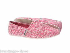 PINK IKAT CASUAL SLIP ON CANVAS FLATS LADIES WOMENS ZAPATILLAS COMFY SHOES