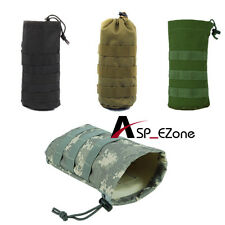 Airsoft Cycling Molle Open Top Bottle Pouch with Mesh Bottom 4 Colors