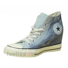 Shoes Converse All Star CT As Mid Lux Inside Heel 552693c Woman Ambient Blue