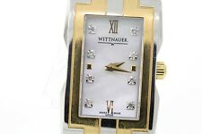 Ladies Wittnauer 12P005 Beckett Two-Tone Stainless Steel Mother of Pearl Watch