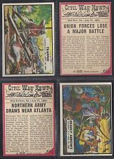A&BC - CIVIL WAR NEWS 1965 (TITLE 44mm) (NUMBERS 061-088) SELECT YOUR CARD