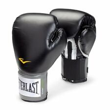 Everlast Pro Style Black Training Boxing Sparring Fighting Fitness Gloves