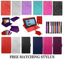 """Universal Folio Leather Flip Case Cover For Android Tablet PC 7"""" 9/10/10.1"""" inch"""