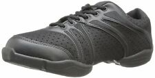 Black Capezio bolt DS30 split sole jazz shoes / sneakers - all sizes
