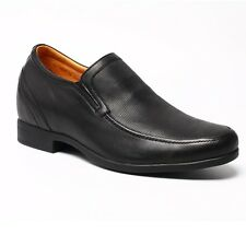 New Mens Casual Leather Dress Formal Business Oxford Classic Elevator Shoes