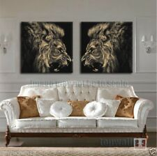 HD Canvas Painting Animal Picture  Print Home Decor Wall Art for Room Lion King