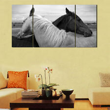 Canvas Paintings Animals Picture Print for Living Room Wall Art Horse 3pc