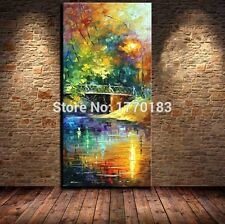 Modern Abstract Hand painted Canvas Oil Paintings Wall Leonid Art Painting