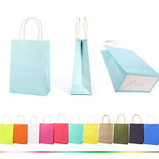 KRAFT PAPER LOOT GIFT PARTY BAGS HANDLES WEDDING BIRTHDAY CHRISTMAS SHOP CARRIER