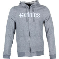 Etnies Corporate Mens Hoody Zip - Grey Heather All Sizes