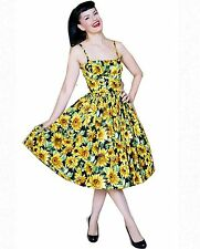 Bernie Dexter Paris Sunflowers dress 50's retro