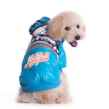 Doggy Winter Hooded Coat Clothes Small Dog Pet Down Coat Jacket Apparel fashion