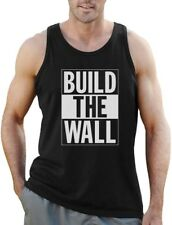 Build The Wall Republican Party Election Campaign Singlet Political