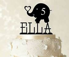 Kids Cake Topper Custom Name Birthday Cake Topper Cake Decoration Cake Topper