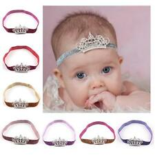 12Colors Baby Infant Toddler Girl Princess Crown Pearl Headband Hair Accessories