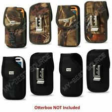 Secure Holster Cover Pouch With Metal Belt Clip Fits Otterbox iPhone 4S/4 Case