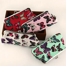 Womens Wallet Butterfly Long Card Holder Coin Purse Clutch Handbag Fashion Bag