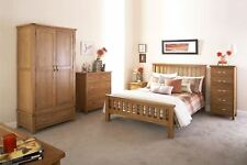 BOWTHORPE RANGE DRAWERS BEDSIDE CHEST TABLE CABINETS WARDROBE 4FT6 5FT BEDSTEAD