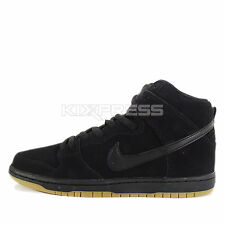 Nike Dunk High Pro SB [305050-029] Skateboarding Black/Black-Gum Light Brown