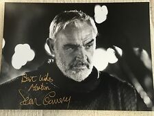 Genuine Hand signed Photo Of Sean Connery
