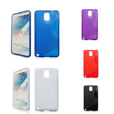 Slim S line Wave TPU Soft Back Cover Case Skin For Samsung Galaxy Note 3 N9000