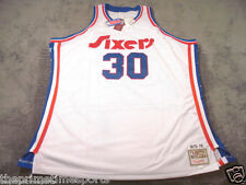 GEORGE McGINNIS #30 Philadelphia 76ers Sixers Throwback Stitched Jersey - 60 4XL