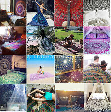 Twin Hippie Tapestries Indian Mandala Wall Hanging Wholesale Lot Psychedelic Art