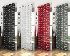 Size Large New Luxury Circle Pattern Ready Made Voile Panel Retro Curtain Blind
