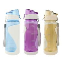 650ML Outdoor Sport Hiking Cycling Bicycle Water Bottle Drink Juice Cup BPA-Free